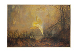 Midsummer Night, or 'Iris', 1876 Giclee Print by John Atkinson Grimshaw