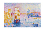 Port of Marseilles, C.1899 Giclee Print by Henri Edmond Cross