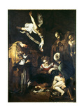 Nativity, 1609 Giclee Print by  Caravaggio