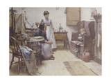 The Waif, 1889 Giclee Print by Walter Langley