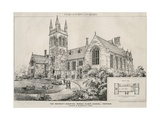 The Whitgift Hospital Middle Class School, Croydon, 1873 Giclee Print by James Akerman