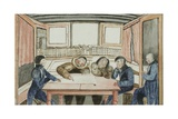 Itmalick and Apelagliu, Inverviewed Aboard Victory, C.1829-33 Giclee Print by Sir John Ross