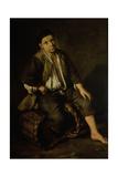 Seated Porter Giclee Print by Giacomo Ceruti