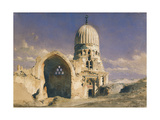 The Tomb of Sit Chavann, 1874 Giclee Print by Carl Haag