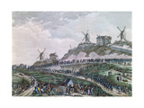 The People of Paris Dragging Cannons to Montmartre on 15 July 1789, 1796 Giclee Print by Jan Bulthuis