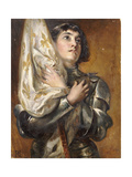 Joan of Arc Giclee Print by Robert Alexander Hillingford