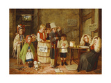 The Police Court, 1867 Giclee Print by Charles Cooper Henderson