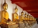 Ayutthaya Period Buddha Images Photographic Print