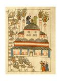 Ms. Cicogna 1971, Miniature from the 'Memorie Turchesche' Depicting the Hagia Sophia During the… Giclee Print