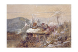 Christmas Eve Giclee Print by John Anster Fitzgerald