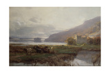 Kilchurn Castle, Lock Awe, 1879 Giclee Print by David Farquharson