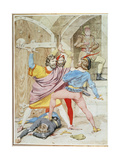 The Death of Richard II, 1852 Giclee Print by Richard Dadd