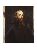 Portrait of Frederick George Stephens Giclee Print by William Henry Fisk