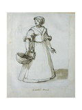 A Kitchen Maid Giclee Print by Inigo Jones