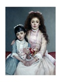 Sisters Giclee Print by M. Kuindji