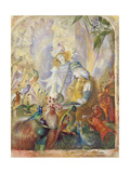The Concert Giclee Print by John Anster Fitzgerald