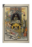 Allegory of the Death of Bismarck, 1898 Giclee Print by Friedrich Graetz