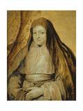 Portrait of Infanta Isabella Clara Eugenia of Spain, C.1627-32 Giclée-Druck von Sir Anthony Van Dyck