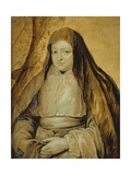 Portrait of Infanta Isabella Clara Eugenia of Spain, C.1627-32 Giclee Print by Sir Anthony van Dyck