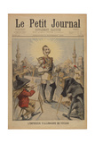 The German Emperor on a Voyage', Title Page of the Illustrated Supplement of Le Petit Journal,… Giclee Print by Henri Meyer