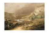 River Rapids, 1825 Giclee Print by Thomas Doughty
