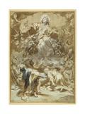 The Assumption of the Virgin Giclee Print by Federico Fiori Barocci or Baroccio