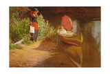 Marooned Giclee Print by Edward John Gregory