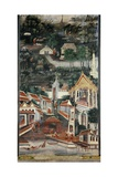 Monastic Life Giclee Print by  Krua Inkhong
