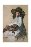Friends Giclee Print by Elizabeth Adela Stanhope Forbes