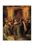 Costume Ball at the Tuileries Palace, 1867 Giclee Print by Jean-Baptiste Carpeaux