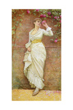 The Rose Giclee Print by Edward Killingworth Johnson