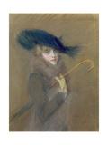 Elegant Lady Giclee Print by Paul Cesar Helleu