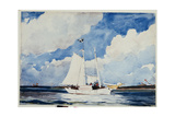 Fishing Schooner, Nassau, C.1898-99 Giclee Print by Winslow Homer