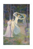 Women Amongst the Trees, 1897 Giclee Print by Hippolyte Petitjean