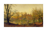 In Sere and Yellow Leaf, 1879 Giclee Print by John Atkinson Grimshaw
