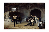 The Duel, 1886 Giclee Print by Hans Temple