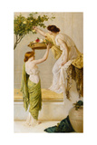 A Basket of Roses, Grecian Girls, C.1890 Giclee Print by Henry Thomas Schaefer