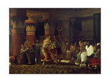 Pastimes in Ancient Egypt, 3000 Years Ago, 1863 Giclee Print by Sir Lawrence Alma-Tadema