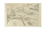 Map of St. Lawrence River from 'The Natural and Civil History of the French Dominions in North… Giclee Print by Thomas Jefferys