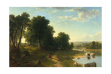Strawberrying, 1854 Giclee Print by Asher Brown Durand