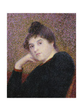 Portrait of a Woman, 1892 Giclee Print by Hippolyte Petitjean
