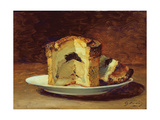 Still Life of Pie, 1884 Giclee Print by Guillaume Romain Fouace