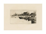 Trenton, Winter (No.2) 1883 Giclee Print by Stephen Parrish