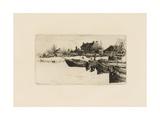 Trenton, Winter (No.2) 1883 Giclee Print by Stephen Parrish