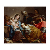 Adoration of the Magi Giclee Print by Corrado Giaquinto