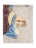 St Benedict Giclée-tryk af Gherardo Starnina