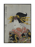 An Okubi-E of the Actor Nakamura Matsue III Giclee Print by Utagawa Kunisada