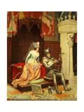 An Arthurian Legend Giclee Print by Jean-Louis Ernest Meissonier