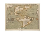Map of the New World, C.1556 Giclee Print by Sebastian Munster