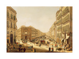 Via Toledo in Naples Giclee Print by Giacinto Gigante